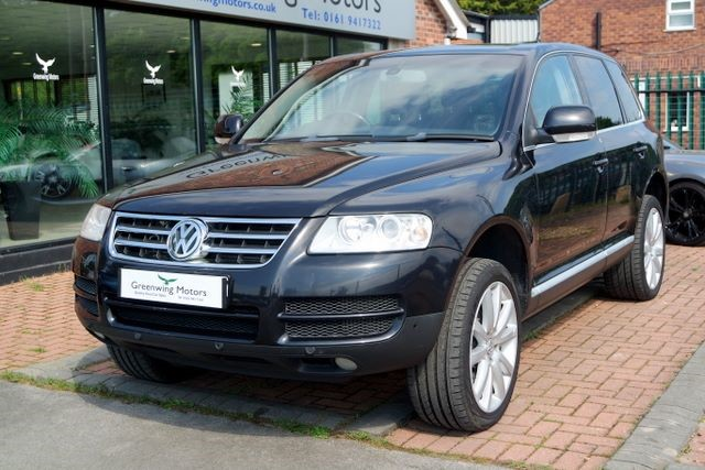 used VW Touareg V6 TDI SPORT 4WD in ashley-cheshire
