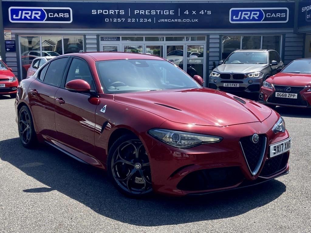 used Alfa Romeo Giulia V6 BITURBO QUADRIFOGLIO USED in chorley-lancashire