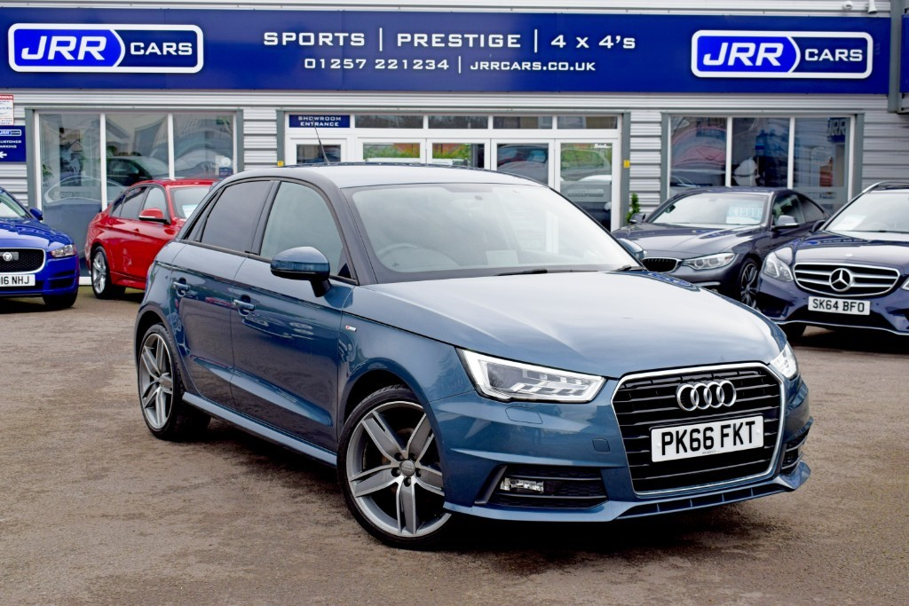 used Audi A1 USED SPORTBACK TFSI S LINE in chorley-lancashire