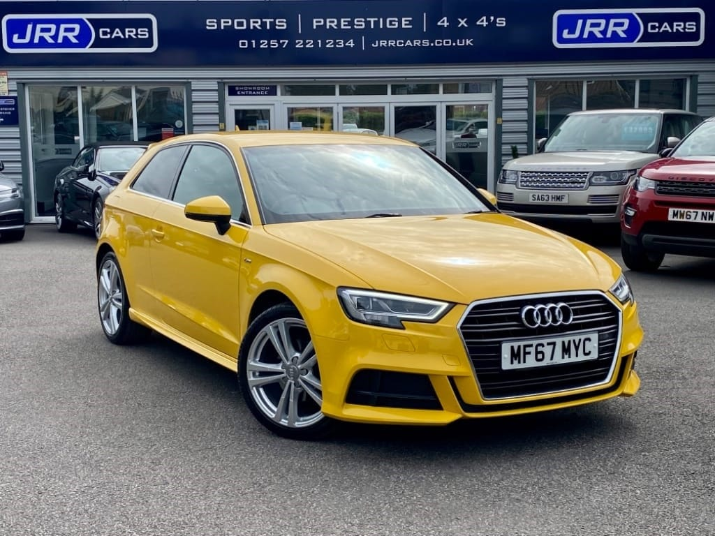 used Audi A3 TFSI S LINE USED in chorley-lancashire