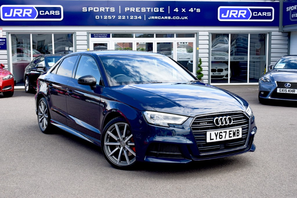 used Audi A3 TDI QUATTRO S LINE BLACK EDITION USED in chorley-lancashire