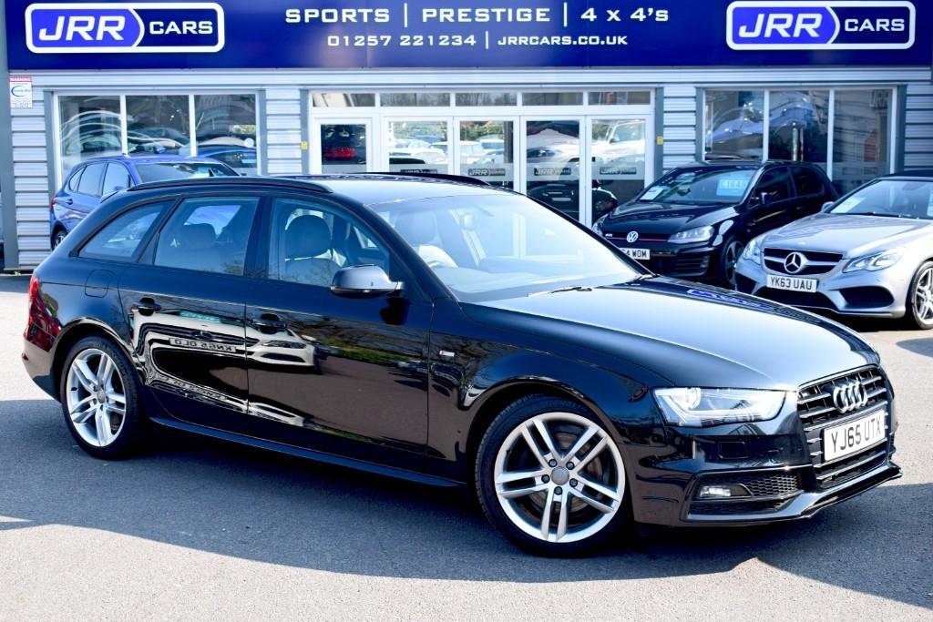 used Audi A4 Avant TDI S LINE NAV in preston-lancashire