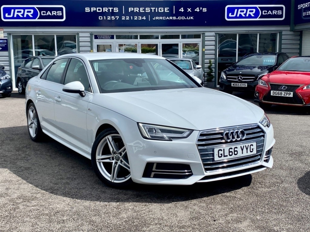 used Audi A4 TDI S LINE in chorley-lancashire