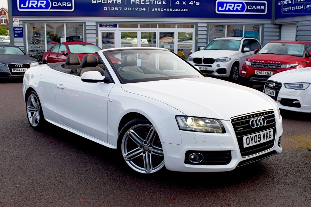 used Audi A5 USED TDI QUATTRO S LINE in chorley-lancashire