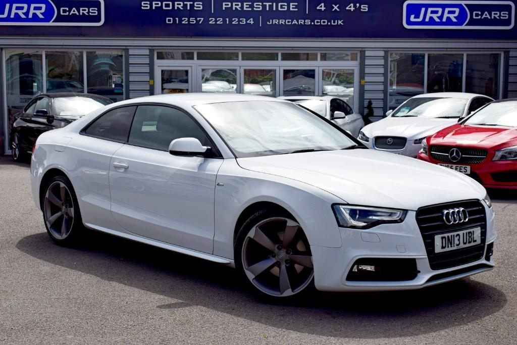 used Audi A5 TDI S LINE BLACK EDITION in preston-lancashire