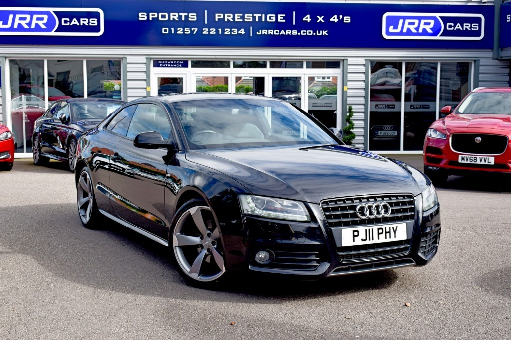 used Audi A5 TDI S LINE BLACK EDITION USED in chorley-lancashire