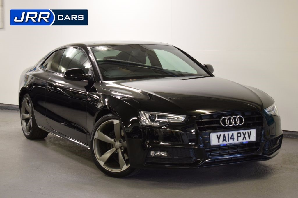 used Audi A5 TFSI S LINE BLACK EDITION in preston-lancashire
