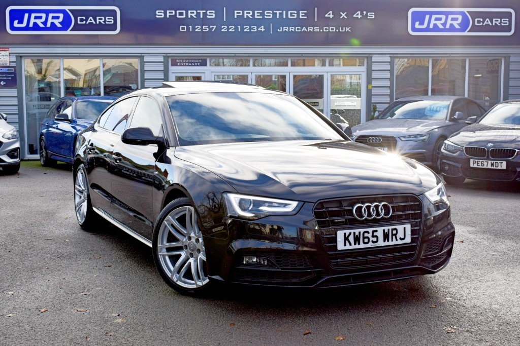 used Audi A5 TDI QUATTRO S LINE BLACK EDITION PLUS USED in chorley-lancashire