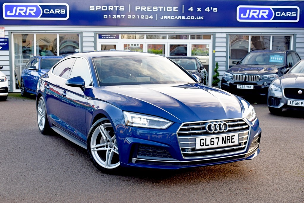 used Audi A5 SPORTBACK TDI S LINE USED in chorley-lancashire