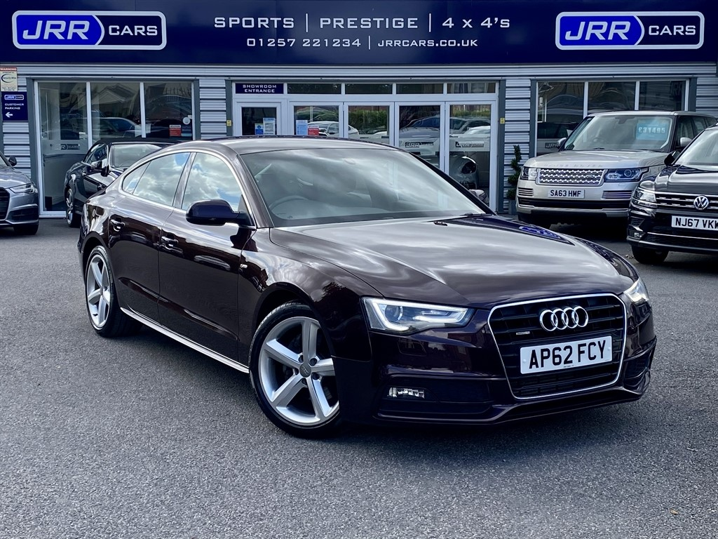 used Audi A5 SPORTBACK TFSI QUATTRO S LINE USED in chorley-lancashire