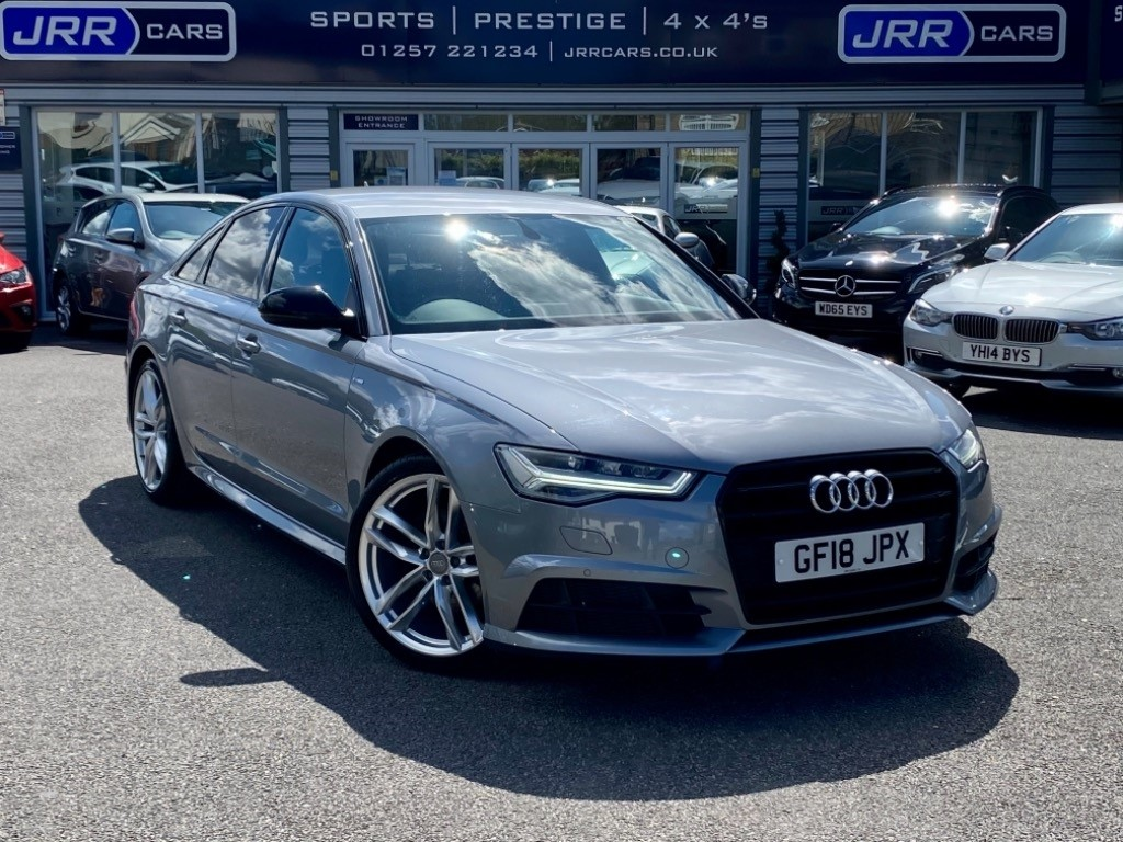 used Audi A6 TDI ULTRA S LINE BLACK EDITION USED in chorley-lancashire