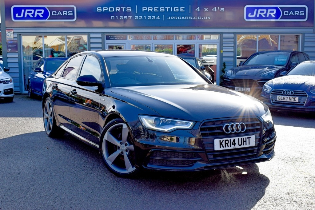 used Audi A6 Saloon TDI S LINE BLACK EDITION USED in chorley-lancashire