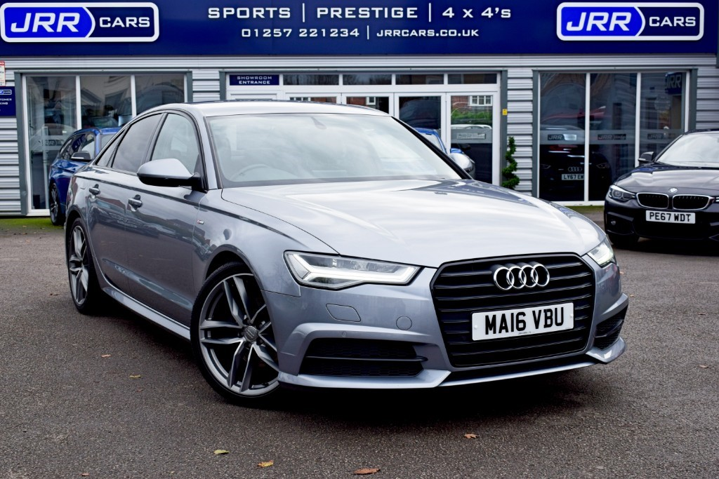 used Audi A6 Saloon TDI ULTRA S LINE BLACK EDITION USED in chorley-lancashire