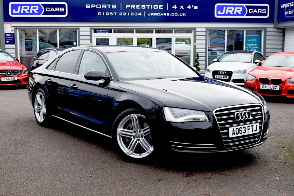used Audi A8 USED TDI QUATTRO SPORT EXECUTIVE in preston-lancashire