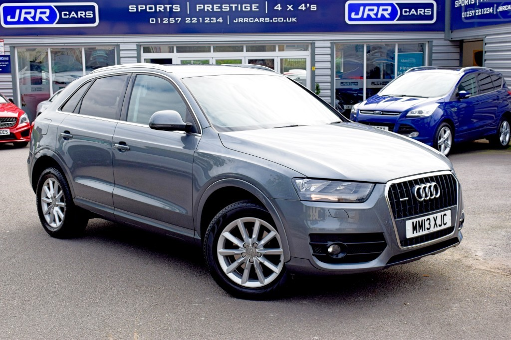 used Audi Q3 TDI QUATTRO SE in preston-lancashire