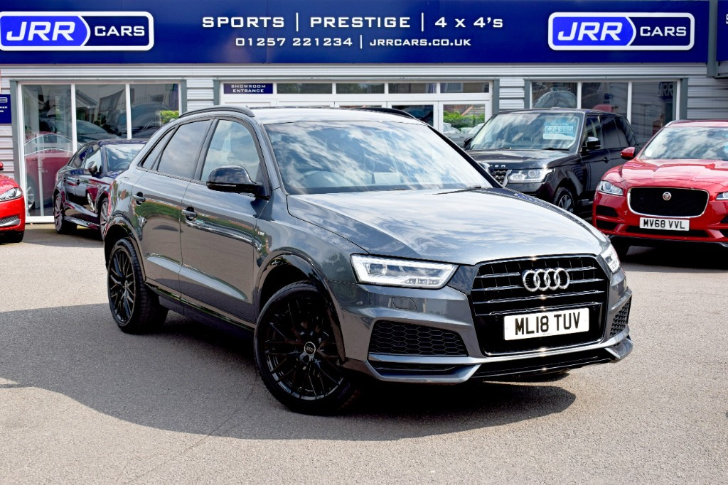 used Audi Q3 TFSI S LINE BLACK EDITION in chorley-lancashire