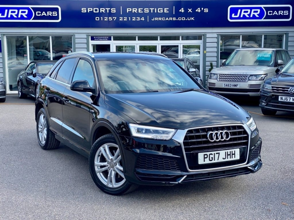 used Audi Q3 TFSI S LINE EDITION USED in chorley-lancashire