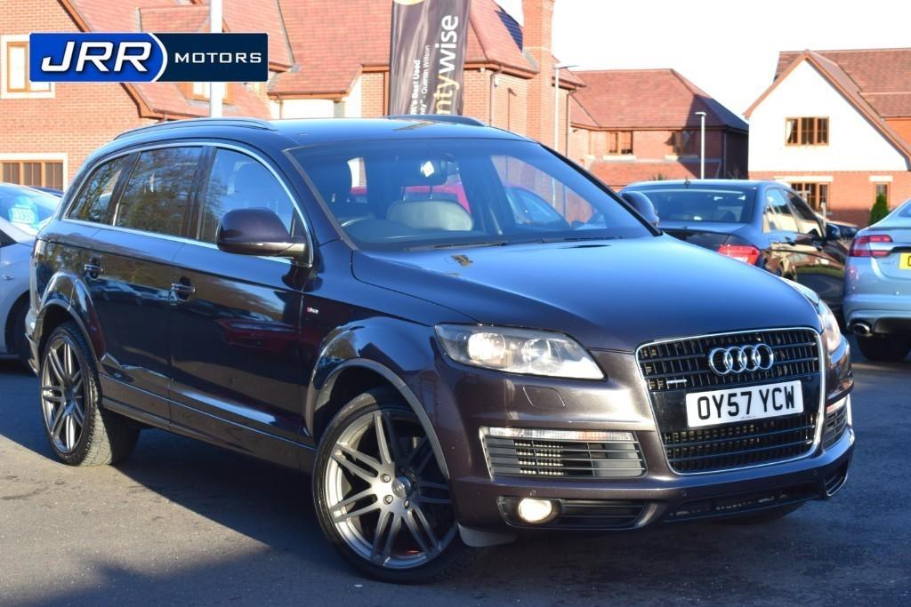 used Audi Q7 TDI QUATTRO S LINE in preston-lancashire
