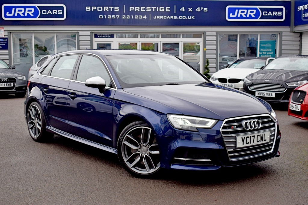 used Audi S3 USED SPORTBACK QUATTRO in chorley-lancashire