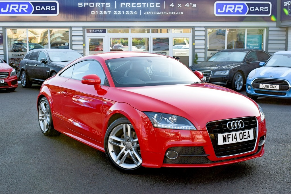 used Audi TT TFSI S LINE in preston-lancashire