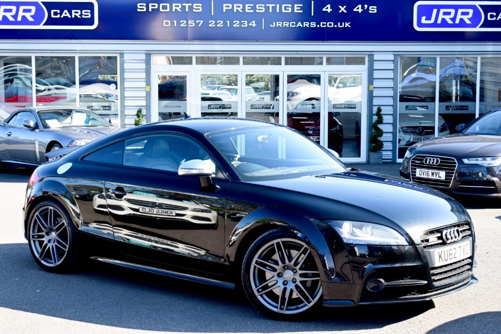 used Audi TTS TFSI QUATTRO S LINE BLACK EDITION in preston-lancashire