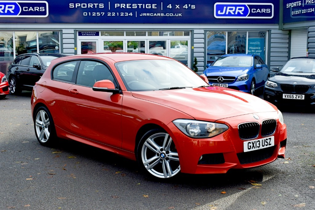 used BMW 116d M SPORT in preston-lancashire