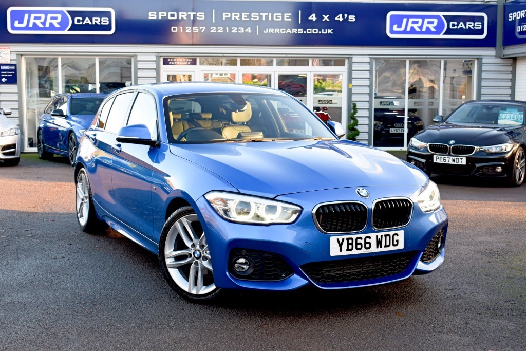 used BMW 118d M SPORT USED in chorley-lancashire