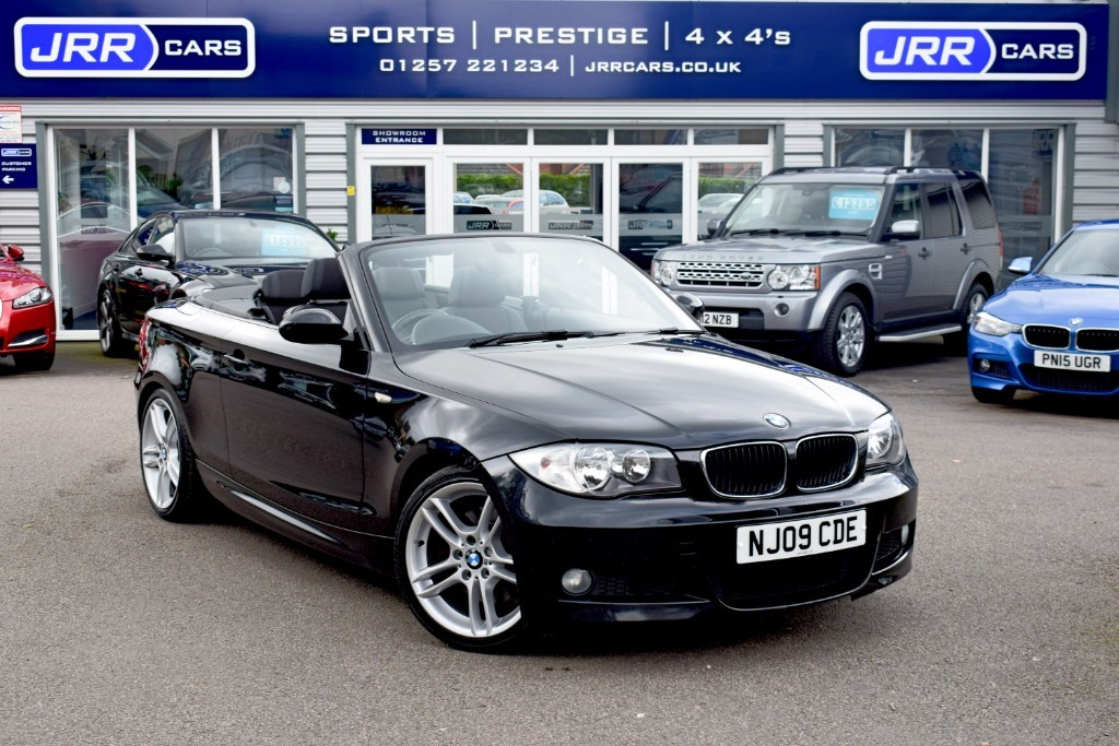 used BMW 123d M SPORT USED in chorley-lancashire