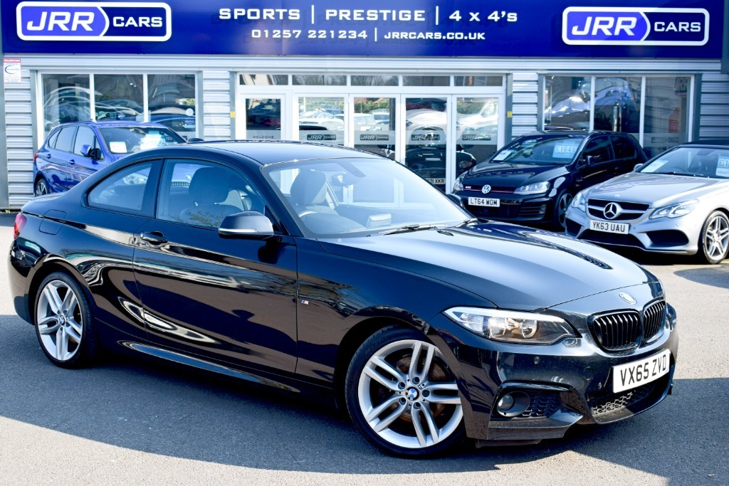 used BMW 220d M SPORT in preston-lancashire