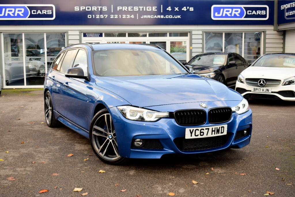 used BMW 320d M SPORT SHADOW EDITION TOURING USED in chorley-lancashire