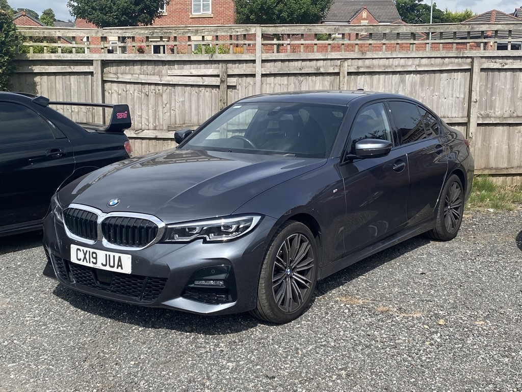 used BMW 320d XDRIVE M SPORT in chorley-lancashire