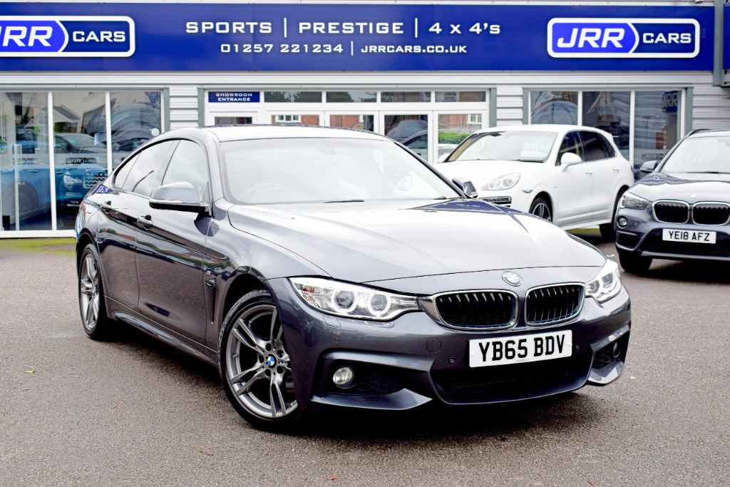 used BMW 420d XDRIVE M SPORT GRAN COUPE USED in chorley-lancashire