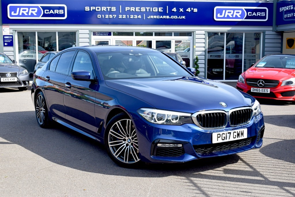 used BMW 530d XDRIVE M SPORT USED in chorley-lancashire
