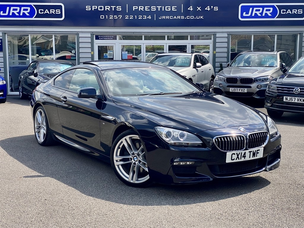 used BMW 640d M SPORT USED in chorley-lancashire