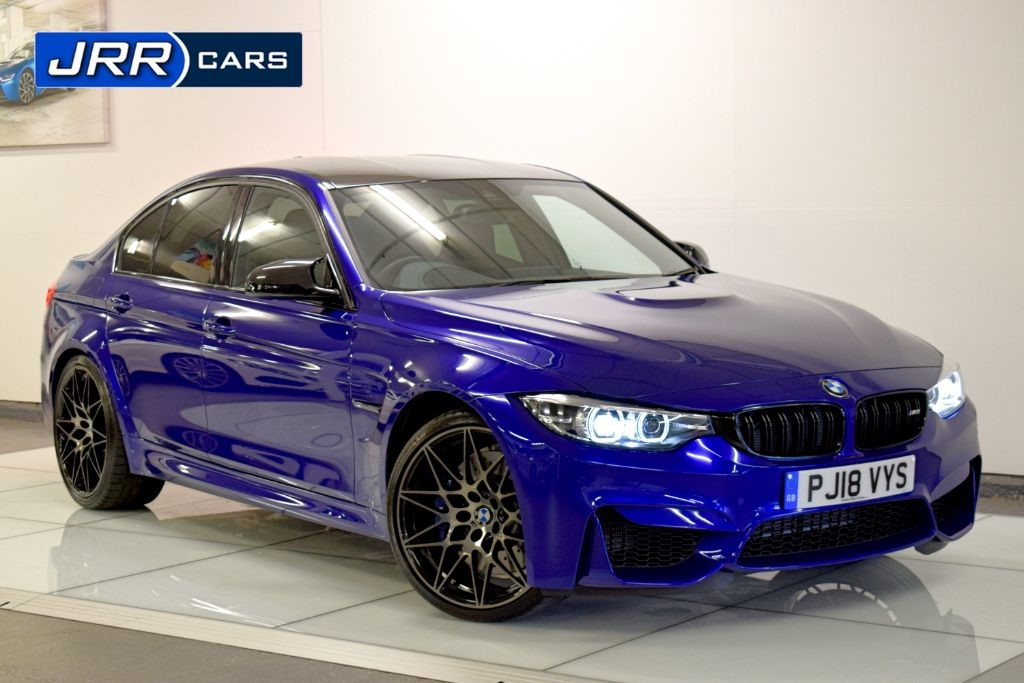 used BMW M3 COMPETITION PACKAGE in preston-lancashire