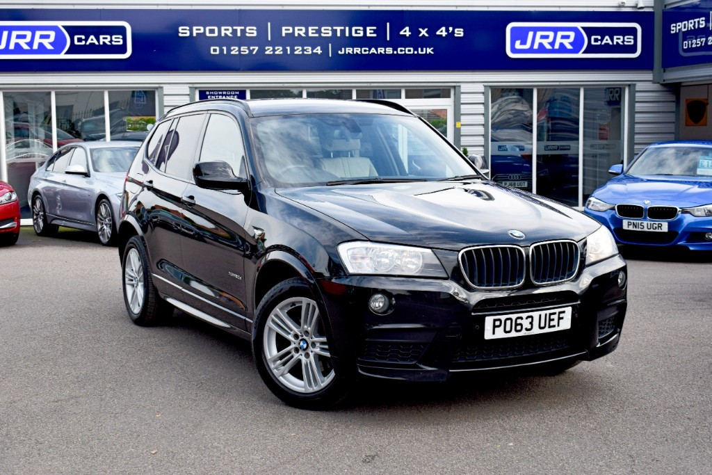 used BMW X3 XDRIVE20D M SPORT USED in chorley-lancashire