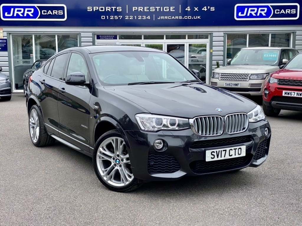 used BMW X4  XDRIVE30D M SPORT USED in chorley-lancashire
