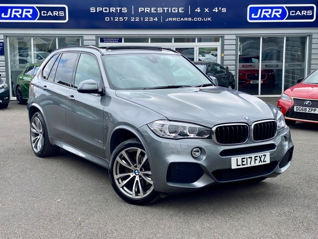 used BMW X5 XDRIVE30D M SPORT USED in chorley-lancashire