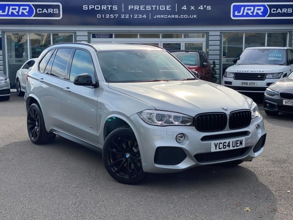 used BMW X5 XDRIVE40D M SPORT (7SEATER) USED in chorley-lancashire