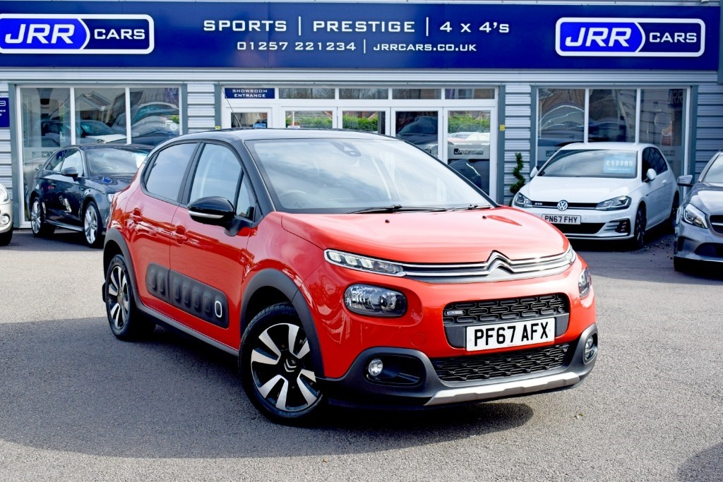 used Citroen C3 PURETECH FEEL S/S USED in chorley-lancashire