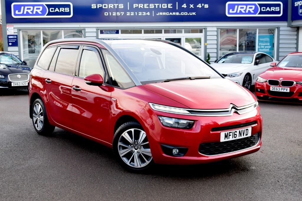used Citroen Grand C4 Picasso USED GRAND BLUEHDI EXCLUSIVE PLUS in chorley-lancashire