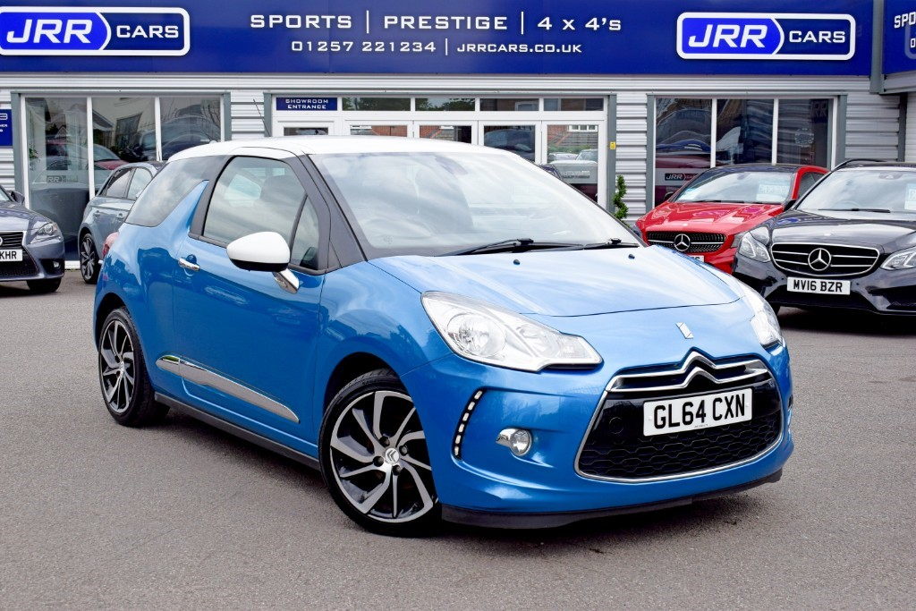 used Citroen DS3 E-HDI DSTYLE PLUS USED in chorley-lancashire