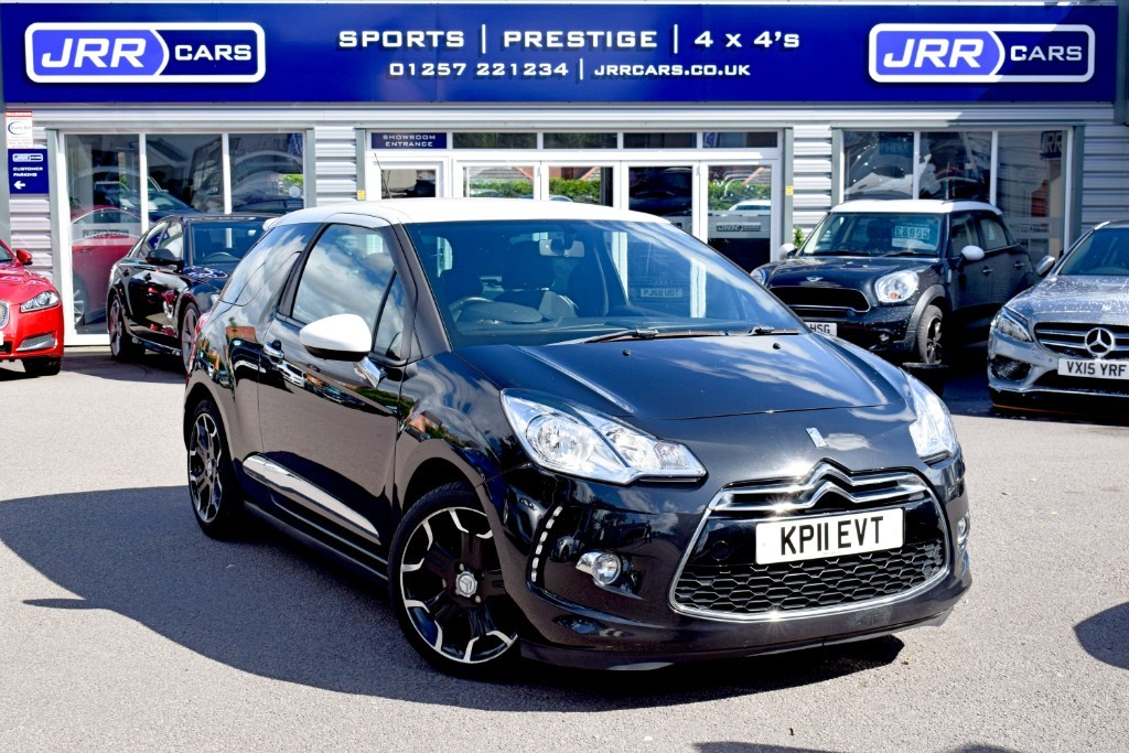 used Citroen DS3 HDI DSPORT USED in chorley-lancashire