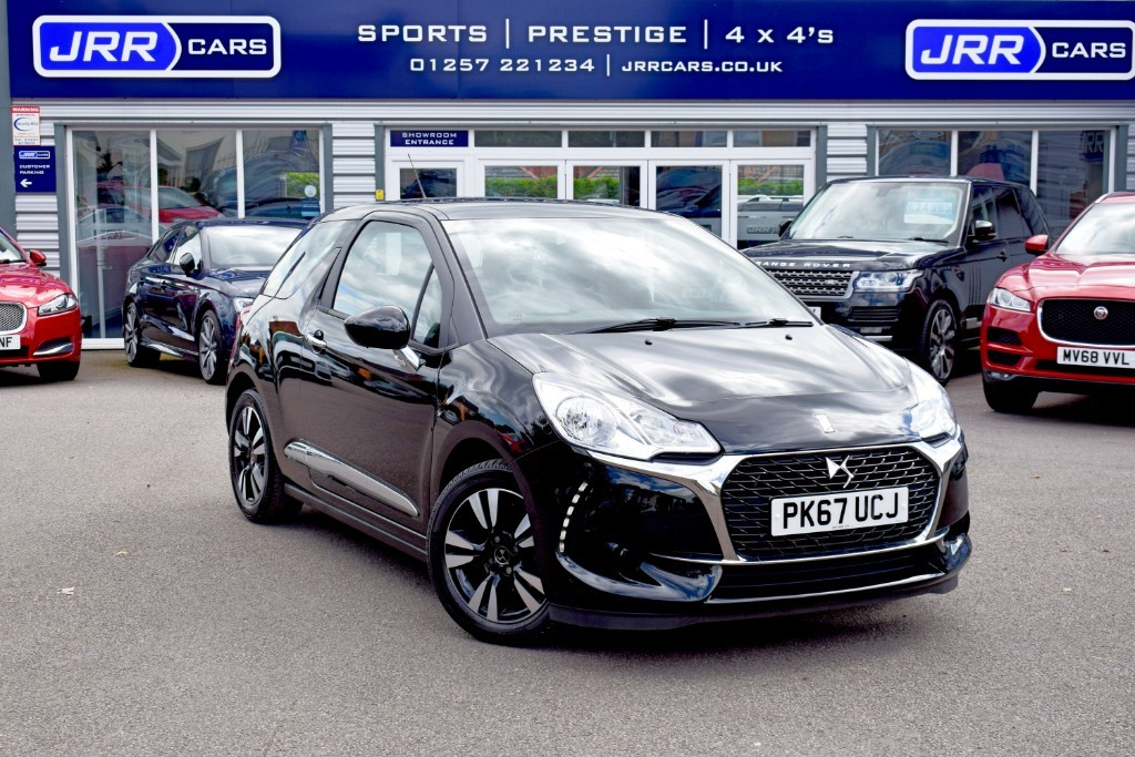 used DS 3 PURETECH CHIC USED in chorley-lancashire