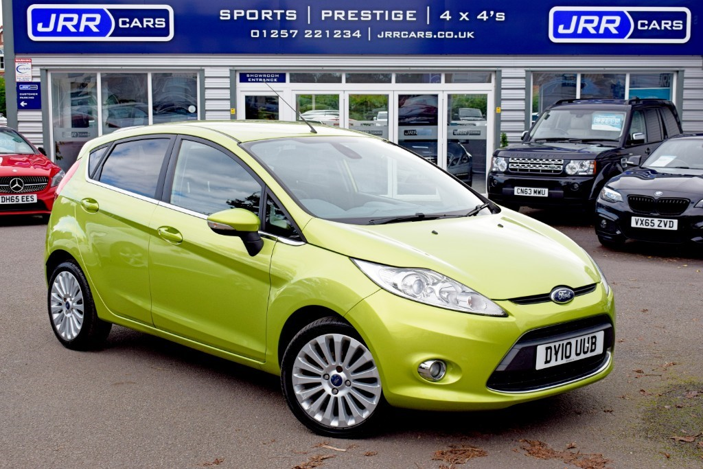 used Ford Fiesta TITANIUM in preston-lancashire