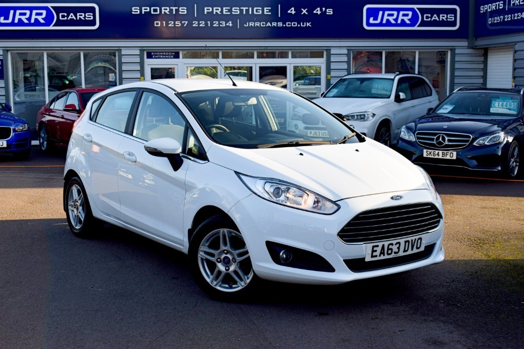 used Ford Fiesta USED ZETEC in chorley-lancashire