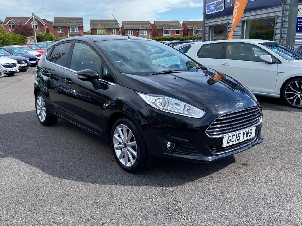 used Ford Fiesta TITANIUM USED in chorley-lancashire