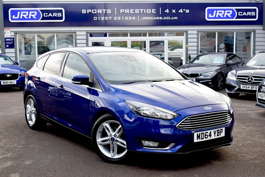used Ford Focus USED TITANIUM TDCI in chorley-lancashire