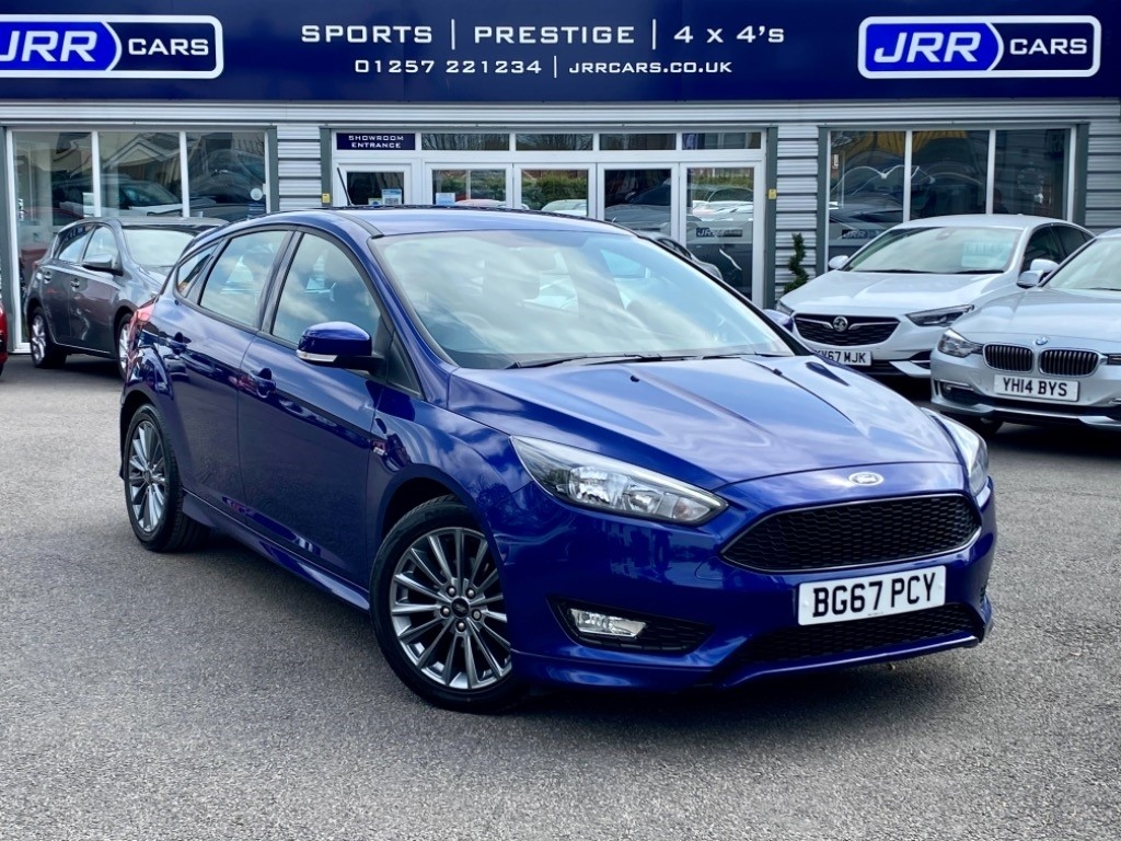 used Ford Focus ST-LINE TDCI USED in chorley-lancashire