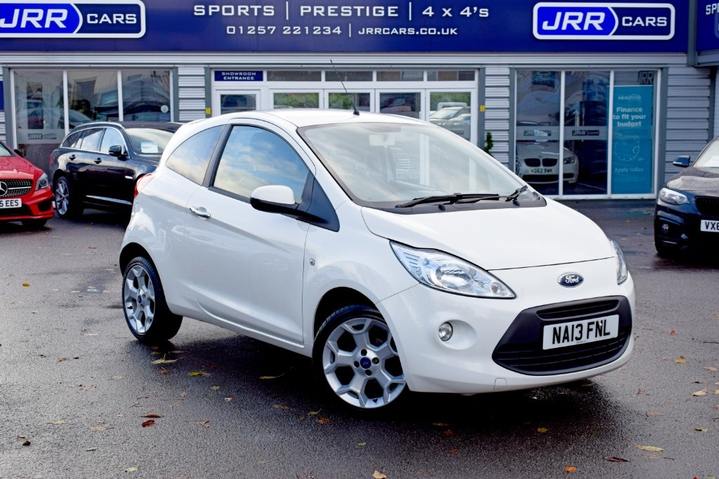 used Ford KA TITANIUM in preston-lancashire